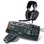 Logitech PC Gaming Products: G510s Gaming Keyboard $60, G700s Gaming Mouse