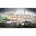 Sid Meier's Civilization Franchise Pack (PC Digital Download): Civilization III, IV, & V Complete Editions $19.63