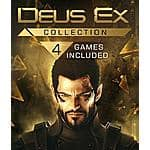 Deus Ex PC Digital Download: Collection $6.35, Game of the Year, Invisible War $1.34 & More via Green Man Gaming