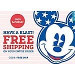 Disney Store Twice Upon A Year Sale: Up to 60% Off: Items from $1.99 + Free Shipping on Entire Orders (7/3 Only)