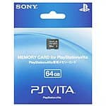 64GB Sony PlayStation Vita Memory Card (PCH-Z641J) $74.99 + $3.75 Rakuten Cash + Free Shipping