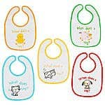 5-Pack Koala Baby Animal Character Bibs $3.98 + Free In-Store Pickup