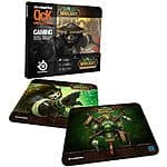 SteelSeries World of Warcraft QcK Gaming Mouse Pad (Panda Monk, Panda Forest, or Pandaren Crest) $4.99 each + Free Shipping
