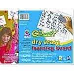 "5-Pack Pacon Go Write! 11""x8.5"" Dry Erase Learning Board $1.48 + Free In-Store Pickup"