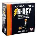 100-Pack Ultra N-RGY AAA Alkaline Batteries $13.99 + Free Shipping