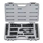 Stanley Professional Black Chrome and Laser Etched Tool Socket Set: 99-Piece $69.99 or 69-Piece $44.99 + Free Shipping