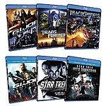 Star Trek + Into Darkness, G.I. Joe: Rise of Cobra + Retaliation, Tranformers + Revenge of the Fallen (Blu-Ray) $27.49 + Free Shipping w/ Prime or FSSS