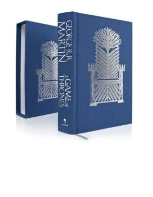 A Game of Thrones Deluxe Edition Hardcover Book (A Song of Ice and Fire #1) $8 + Free In-Store Pickup