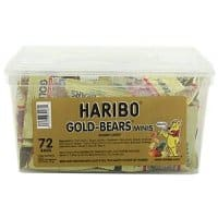 Amazon Deal: 72-Count Haribo Minis Bag Fruit Flavored Mini Golden Gummi Bears $8.55 + Free Shipping w/ S&S