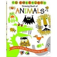 Walmart Deal: Ed Emberley's Drawing Books: Book of Animals or Make a World