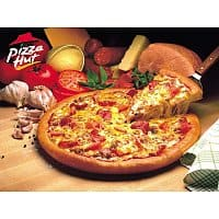 Pizza Hut Deal: Pizza Hut: 3-Topping Medium Pizza w/ Online Orders