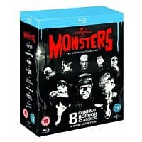 Amazon (UK) Deal: Universal Classic Monsters: The 8-Disc Essential Collection (Region-Free Bluray) $28.69 *Lowest*