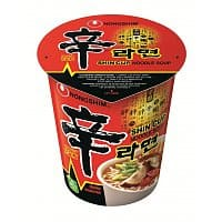 Amazon Deal: 12-Pack of 2.65oz Nongshim Shin Noodle Cup