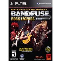 "GameStop Deal: BandFuse: Rock Legends Artist Pack w/ 1/4"" Guitar Cable (PS3 or Xbox 360) $9.99 + Free In-Store Pickup Only"