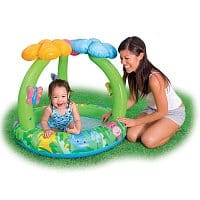 Amazon Deal: Intex Jungle Flower Inflatable Baby Pool