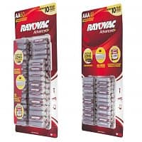 Meh Deal: Rayovac Alkaline Batteries: 60-Pack AAA Batteries $8, 48-Pack AA Batteries