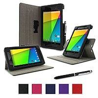 Amazon Deal: RooCASE Nexus 7 2013 Cases: Origami Slim Shell + Dual-View Stand Case