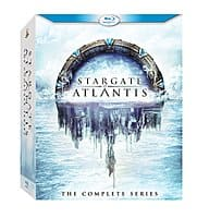 Amazon Deal: Stargate Atlantis: The Complete Series: Blu-Ray $45, DVD for