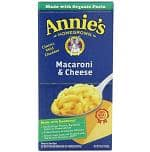Amazon Deal: 12-Pack of 6oz. Annie's Homegrown Classic Macroni & Cheese