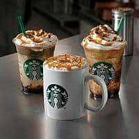 Starbucks Deal: Starbucks Coffee: Hot or Iced Fall Beverages