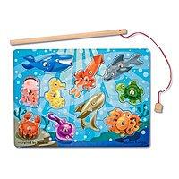 Amazon Deal: 10-Piece Melissa & Doug Deluxe Magnetic Fishing Game