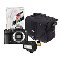 Adorama Deal: Pentax K-50 DSLR Sale w/ $50 Adorama Gift Card + 4% Rewards: Body $397, w/ 18-55mm Lens $497, w/ 18-55mm + 50-200mm Lenses $597 + Free Shipping