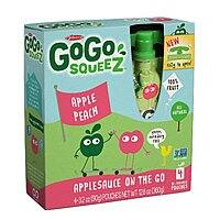 Amazon Deal: 48-Pack of GoGo SqueeZ ApplePeach Sauce Pouch
