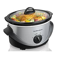 Sears Deal: 4-Quart Hamilton Beach Stainless Steel Slow Cooker