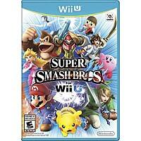 Target Deal: Super Smash Bros. (Nintendo Wii U) + $15 Target Gift Card