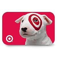 Target Deal: Target Gift Cards (Physical, Mobile, or eGift Delivery)
