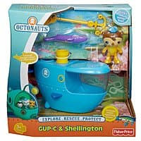 Amazon Deal: Fisher-Price Octonauts Playset Toys: Gup E Vehicle $5.35, Gup C Playset