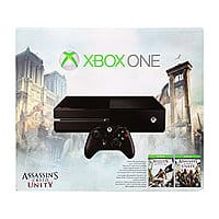 Newegg Deal: Microsoft Xbox One Assassin's Creed: Unity Bundle + 12 Month Xbox Live Membership (Digital) + $20 Newegg Gift Card $349.99 or $299.99 + FS w/ BitCoin Checkout