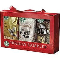 Staples Deal: 6-Pack of 1.76oz. Starbucks Seasonal Coffee Sampler Gift Set