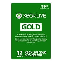 GameStop Deal: 12-Month Microsoft Xbox Live Gold Membership (Digital Delivery) $39.99