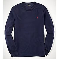 Ralph Lauren Deal: Men's Ralph Lauren Custom Long Sleeved T-Shirt (various colors/sizes)