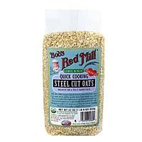 Amazon Deal: 4-Pack of Bob's Red Mill Organic Steel Cut Oats or Gluten Free Corn Grits