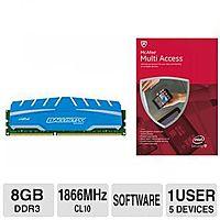 TigerDirect Deal: McAfee 2015 Multi-Access Bundles: 8GB Crucial Memory, Microsoft Arc Mouse & More