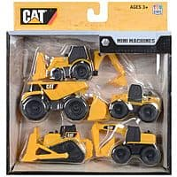 Amazon Deal: 5-Pack Toy State Caterpillar Construction Mini Machine