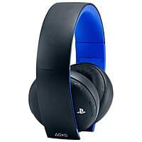 Amazon Deal: Sony Gold Wireless Stereo Headset for PS3/PS4 (Jet Black) $72.99 + Free Shipping