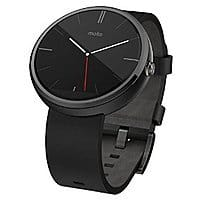 Amazon Deal: Motorola Moto 360 Smart Watch for Android Devices (Certified Refurbished) $99.99 + Free Shipping