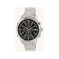 Newegg Deal: Men's Seiko Chronograph Silver Stainless Steel Black Dial Quartz Watch (SKS 421) $68 + Free Shipping via Ashford