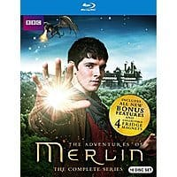 Amazon Deal: BBC: The Adventures of Merlin: The Complete Series (Blu-Ray) $78.49 + Free Shipping