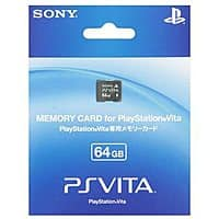 Rakuten (Buy.com) Deal: 64GB Sony PlayStation Vita Memory Card (PCH-Z641J) $74.99 + $3.75 Rakuten Cash + Free Shipping