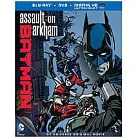 Amazon Deal: DC Animated Features Blu-Ray/DVD/Digital HD Movies: Batman vs. Robin, Batman: Assault on Arkham $9.99 ea. & More + Free In-Store Pickup