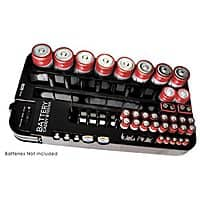 Rakuten (Buy.com) Deal: 2-Pack of Battery Caddy/Organizer & Tester $14.99 + Free Shipping