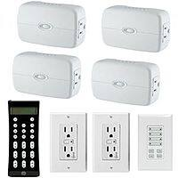 TigerDirect Deal: GE Z-Wave Home Automation Wireless Starter Kit: 3x Z-Wave Lighting Lamp Dimmer w/ 1x Off/On Appliance, 2x Control Duplex Receptacle, Keypad, Remote $175 AR + Free Shipping