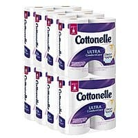 Amazon Deal: 32-Count Cottonelle Ultra Comfort Care Double Roll Toilet Paper