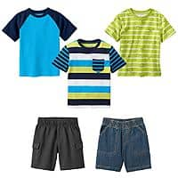 Kohls Deal: Jumping Beans Toddler Kids' Clothing: Select 6 Shirts/Pants & More