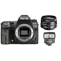 Adorama Deal: Pentax K-3 24MP SLR Camera w/ 50mm f/1.8 Lens + Mount Flash