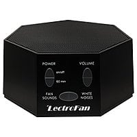 Amazon Deal: LectroFan Sound and White Noise Machine (Black or White) $43.96 + Free Shipping